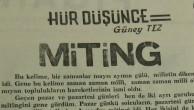 Güney Tez 1968/ Demokrasi Gazetesi Köşe yazılarından
