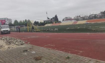 Bir Tarihe Elveda  Çatalca Ziya Altınoğlu Stadyumu